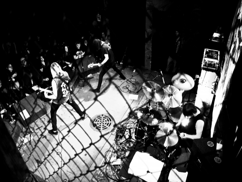 High On Fire and Municipal Waste with Toxic Holocaust, Haunt
