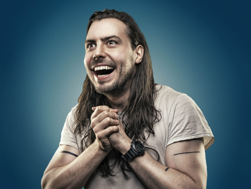 Andrew W.K., the Johnny McCuaig Band