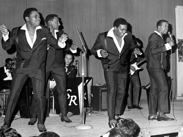 The Four Tops, The Temptations